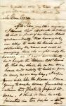 June 1849 W.D.M. Howard letter to his fiancée